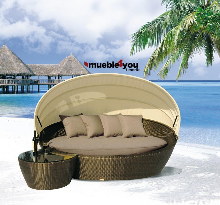 Cama de exterior mueble4you for Camas de exterior