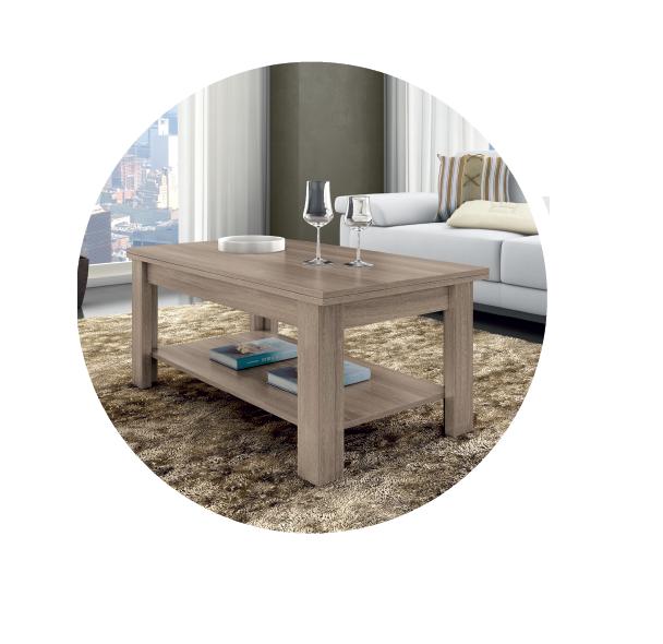 Mesa de centro convertible en mesa de comedor   mueble4you